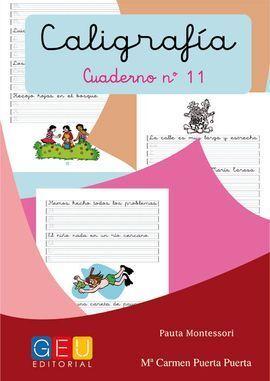 11-CALIGRAFIA Nº11 PAUTA MONTESSORI
