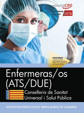 ENFERMERAS/OS. CONSELLERIA DE SANITAT UNIVERSAL I SALUT PÚBLICA. GENERALITAT VAL