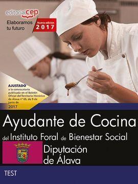 AYUDANTE DE COCINA DEL INSTITUTO FORAL DE BIENESTAR SOCIAL. DIPUTACIÓN DE ÁLAVA.