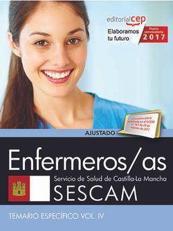 ENFERMEROS/AS. SERVICIO DE SALUD DE CASTILLA-LA MANCHA (SESCAM). TEMARIO ESPECÍF