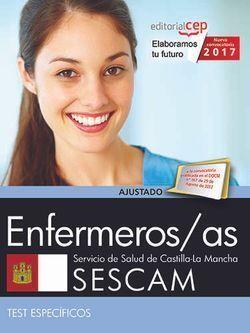 ENFERMEROS/AS. SERVICIO DE SALUD DE CASTILLA-LA MANCHA (SESCAM). TEST ESPECÍFICO