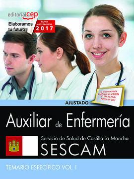 AUXILIAR DE ENFERMERÍA. SERVICIO DE SALUD DE CASTILLA-LA MANCHA (SESCAM). TEMARI