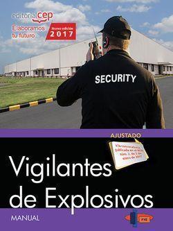 MANUAL. VIGILANTES DE EXPLOSIVOS