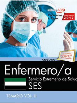 ENFERMERO/A. SERVICIO EXTREMEÑO DE SALUD. TEMARIO VOL. III