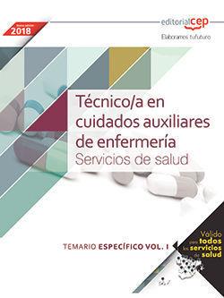 TÉCNICO/A EN CUIDADOS AUXILIARES DE ENFERMERÍA. SERVICIOS DE SALUD. TEMARIO ESPE