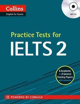PRACTICE TESTS FOR IELTS 2 WITH MP3 AUDIO CD