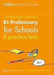 COLLINS PRACTICE TESTS B1 KEY FOR SCHOOLS