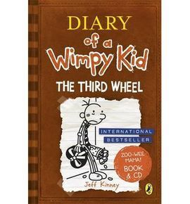 DIARY OF A WIMPY KID: THE THIRD WHEEL (BOOK + CD)