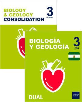 INICIA DUAL BIOLOGÍA Y GEOLOGÍA 3.º ESO PROGRAMA BILINGÜE ANDALUCÍA. PACK ALUMNO