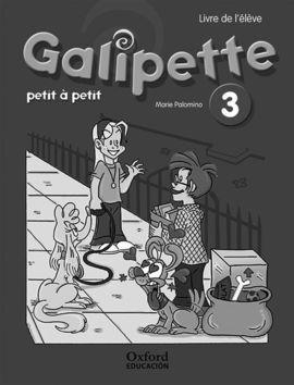 GALIPETTE PETIT 3.º PRIMARIA. CAHIER D'EXERCISES