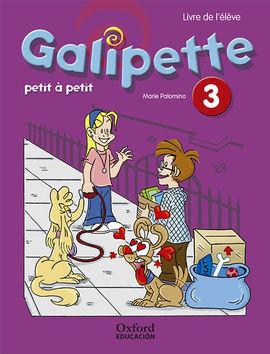 GALIPETTE PETIT À PETIT 3. PACK LIVRE DE L'ÉLÈVE + CD