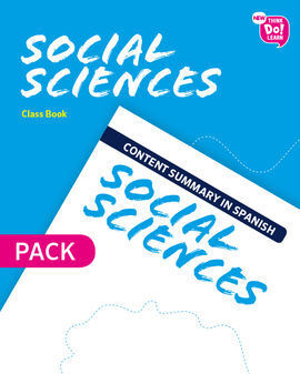 NEW THINK DO LEARN SOCIAL SCIENCES 5. CLASS BOOK + CONTENT SUMMARY IN SPANISH PA