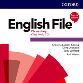 ENGLISH FILE 4TH EDITION  A1/A2 . CLASS AUDIO CD (3)
