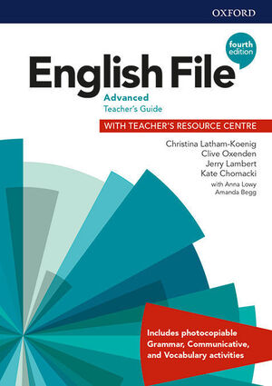 ENGLISH FILE 4TH EDITION C1.2 TEACHERS GUIDE AND TEACHERS RESOURCE BOOK