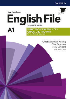 ENGLISH FILE 4TH EDITION A1. TEACHER'S GUIDE + TEACHER'S RESOURCE PACK