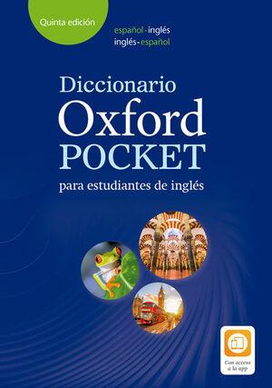 DICCIONARIO OXFORD POCKET BILINGUE CON CD ESPAÑOL-INGLÉS
