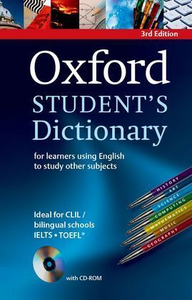 OXFORD STUDENT'S DICTIONARY (3RD ED)