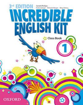 INCREDIBLE ENGLISH KIT 1: CLASS BOOK 3RD EDITION