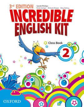 INCREDIBLE ENGLISH KIT 2 CB 3ED - PRIMARIA