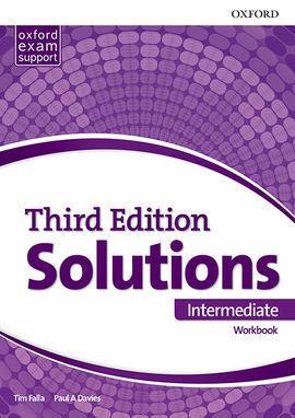 SOLUTIONS 3RD EDITION INTERMEDIATE. WORKBOOK