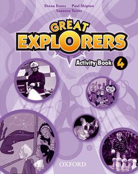 GREAT EXPLORERS 4: ACTIVITY BOOK