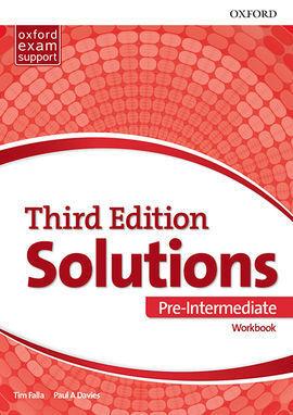 SOLUTIONS 3RD EDITION PRE-INTERMEDIATE. WORKBOOK