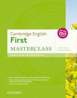 CERTIFICATE IN ADVANCED ENGLISH MASTERCLASS STUDENT'S BOOK+OSP PA