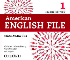 AMERICAN ENGLISH FILE 1 CL CD (4) 2ED