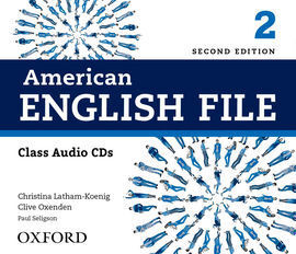 AMERICAN ENGLISH FILE 2 CL CD (4) 2ED