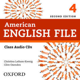AMERICAN ENGLISH FILE 2ND EDITION 4. CLASS AUDIO CD (4)