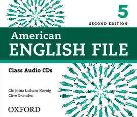 AMERICAN ENGLISH FILE 2ND EDITION 5. CLASS AUDIO CD (4)
