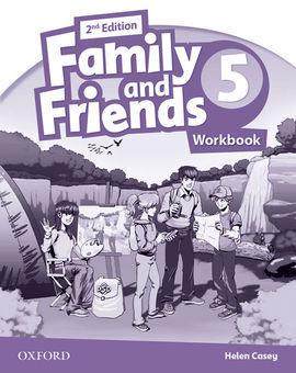 FAMILY & FRIENDS 5: ACTIVITY BOOK 2ª EDICIÓN