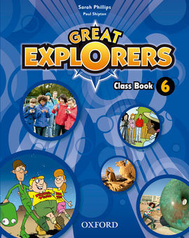 GREAT EXPLORERS 6 CLASS BOOK