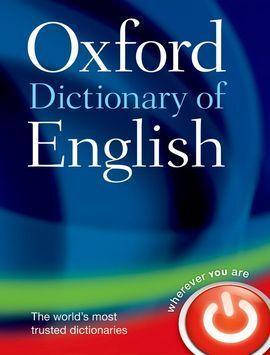 OXFORD DICTIONARY OF ENGLISH 3ª EDICIÓN