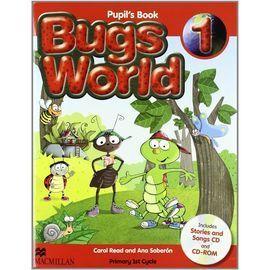 BUGS WORLD 1 PB PACK (NEW C)