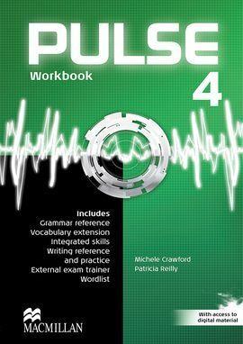 PULSE 4 WORKBOOK PACK ENGLISH EDITION