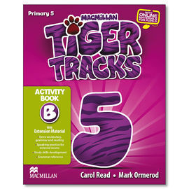 TIGER TRACKS ACTIVITY BOOK 5 PACK