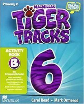 TIGER TRACKS 6º. ACTIVITY BOOK B