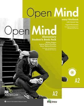 OPEN MIND ELEMENTARY A2 STS & WB (+KEY) PACK