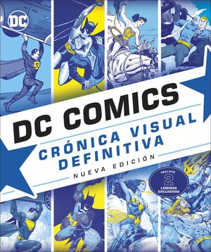 DC COMICS CRONICA VISUAL DEFINITIVA NUEVA EDICION