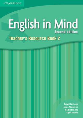 ENGLISH IN MIND 2, TEACHER'S RESOURCE BOOK