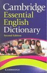 CAMBRIDGE ESSENTIAL ENGLISH DICTIONARY. SECOND EDITION