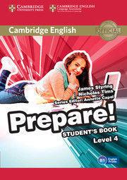 CAMBRIDGE ENGLISH PREPARE! LEVEL 4 STUDENT'S BOOK