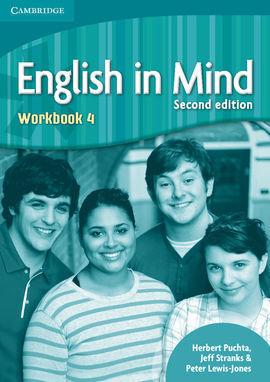 ENGLISH IN MIND LEVEL 4 WORKBOOK 2ND EDITION
