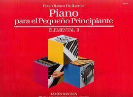 PIANO  PARA EL PEQUEÑO PRINCIPIANTE  ELEMENTAL B  WP231E (PIANO BASICO DE BASTIE