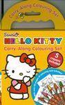 HELLO KITTY CARRY ALONG COLOURING SET