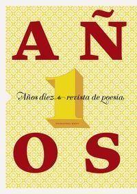 REVISTA DE POESÍA AÑOS DIEZ, Nº 1