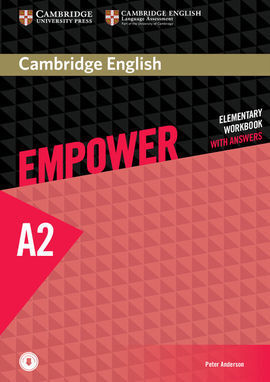 CAMBRIDGE ENGLISH EMPOWER ELEMENATARY. WORKBOOK WITH ANDSWERS WITH DOWNLOADABLE