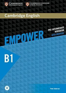 CAMBRIDGE ENGLISH EMPOWER PRE-INTERMEDIATE. WORKBOOK WITH ANSWERS WITH DOWLOADAB