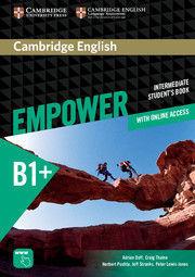 CAMBRIDGE ENGLISH EMPOWER INTERMEDIATE STUDENT + ONLINE WORKBOOK